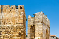 Tower of David in Jerusalem Stock Photos