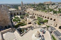 Tower of David Jerusalem Citadel - Israel Stock Image