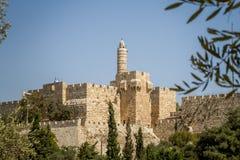 The Tower of David, Jerusalem Citadel, Israel Stock Images