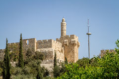 The Tower of David, Jerusalem Citadel, Israel Stock Photos
