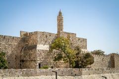 The Tower of David, Jerusalem Citadel, Israel Stock Image