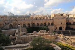 The Tower of David stock photos