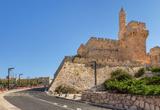 Tower of David in Jerusalem, Israel. Stock Photography