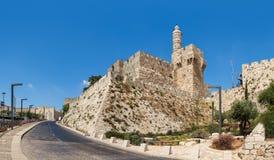 Tower of David in Jerusalem, Israel. Stock Images
