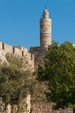 Tower of David in Jerusalem, Israel Royalty Free Stock Image