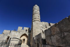 Tower of David. Jerusalem, Israil Royalty Free Stock Images