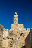 The Tower of David, Jerusalem Stock Image