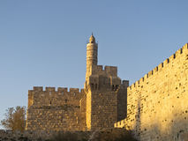 Tower of David Royalty Free Stock Photo
