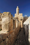 Tower of David. Royalty Free Stock Images