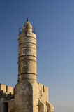 Tower of David Minaret Stock Photos