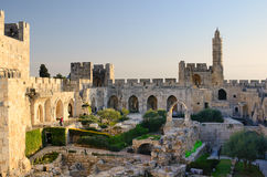 Tower of David Minaret Royalty Free Stock Photo