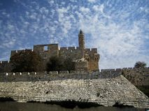 Tower of David. Stock Photos