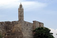 Tower of David. Stock Images