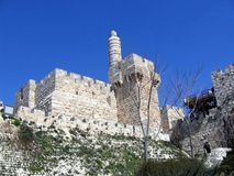 Tower of David Stock Photo