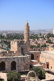 Tower of David, the Ottoman Minaret, Israel Royalty Free Stock Photo