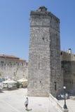 Tower de Tha de capitán en Zadar, Croacia Foto de archivo libre de regalías