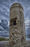 Tower Defense. Watchtowers that filled the Atlantic coast to the defense of territory Royalty Free Stock Photos