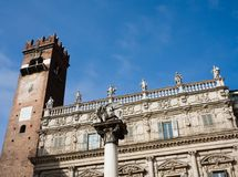 Tower del Gardella,  Verona Stock Photography