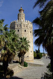 Tower del Oro. (Golden Tower) Seville, Spain Royalty Free Stock Image