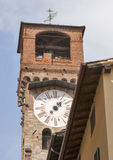 Tower delle Ore, Lucca, Italy Royalty Free Stock Image