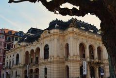 tower den tjeckiska karlovy republiken för staden varierar sikt Royaltyfria Bilder