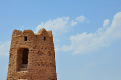 TOWER IN DESERT Royalty Free Stock Image