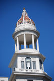 Tower and dome of classical building Stock Photo