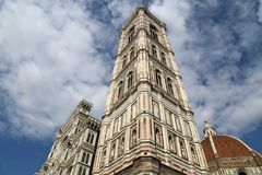 The famous cathedral of Florence, Italy Royalty Free Stock Images