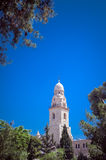 Tower of Dormition Abbey Royalty Free Stock Photo