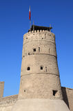Tower at Dubai Museum Royalty Free Stock Images