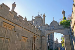 Tower East side of the Vorontsov Palace Royalty Free Stock Images