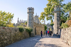Tower East side of the Vorontsov Palace Royalty Free Stock Photo