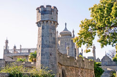 Tower East side of the Vorontsov Palace Royalty Free Stock Image