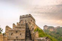 tower in eastern Jinshanling Great Wall Royalty Free Stock Image