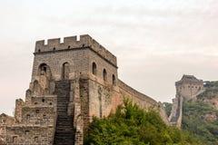 tower in eastern Jinshanling Great Wall Stock Image