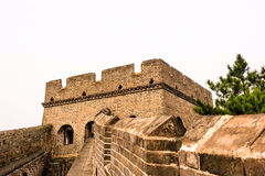 tower in eastern Jinshanling Great Wall Stock Images