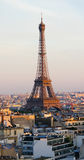 Tower Eiffel in Paris, France. View of Tower Eiffel in Paris, France Stock Photography