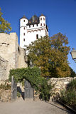 Tower at Electoral Castle in Eltville, Germany Stock Photo