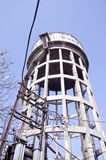Tower with electrical cable in Amritsar, India Stock Photo