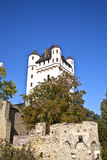 Tower at Eltville Castle. The tower and the electoral castle from the 14th century in Eltville Stock Photos