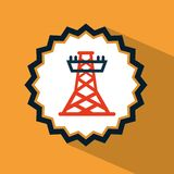 Tower energy Royalty Free Stock Photography