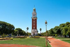 Tower of the English, Buenos Aires Argentina royalty free stock images