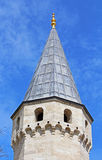 Tower of entrance in Topkapi Palace, Istanbul, Turkey Stock Photography