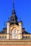 Tower of the episcopal palace in Novi Sad Stock Photos