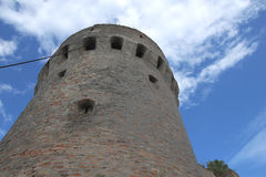 Tower in Erdut. Historical ruins of tower in Erdut Royalty Free Stock Photo