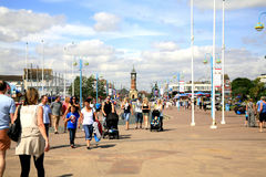 Tower Esplanade, Skegness, Lincolnshire. Royalty Free Stock Image