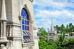 Tower facade of Simala Shrine in Cebu Stock Images