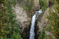 Tower Falls in Yellowstone National Park Royalty Free Stock Image