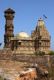 Tower of fame inside the Chittorgarh fort Royalty Free Stock Image