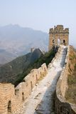 Tower of famous great wall in the Simatai Stock Photos